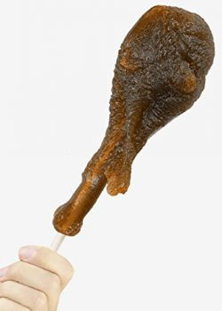 white elephant gift gummy turkey leg