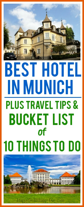 Traveling to Munich?  Here is info on where to stay and the top 10 must see attractions!