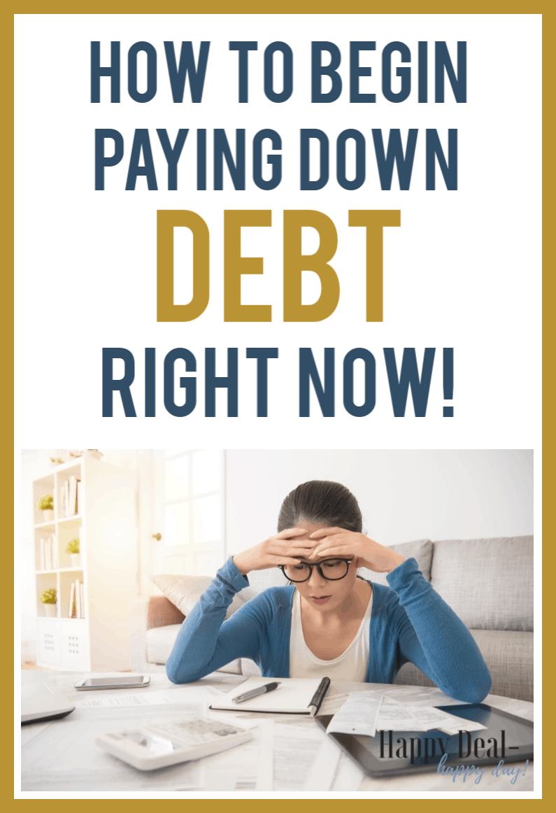 20 Day Budget Challenge: Ideas on How To Begin Paying Down Debt