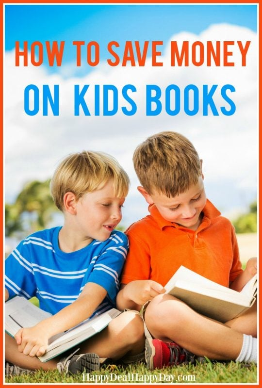 How To Save Money On Kids Books