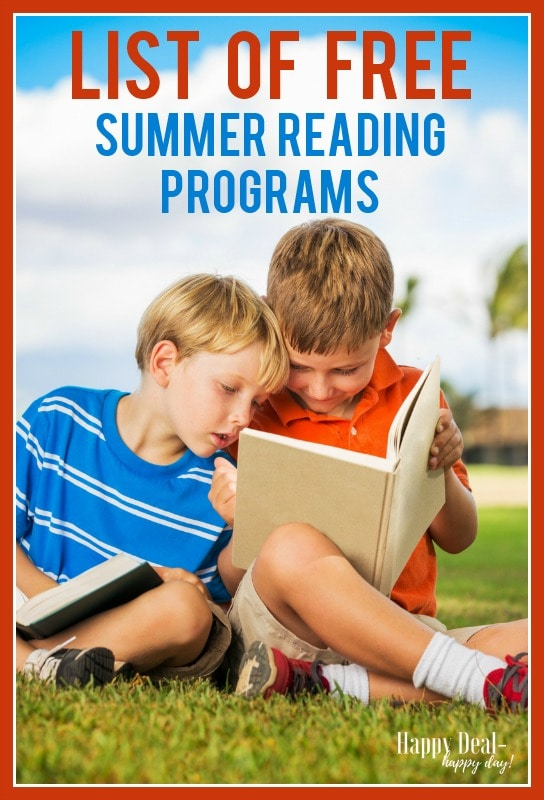 list of free summer reading programs