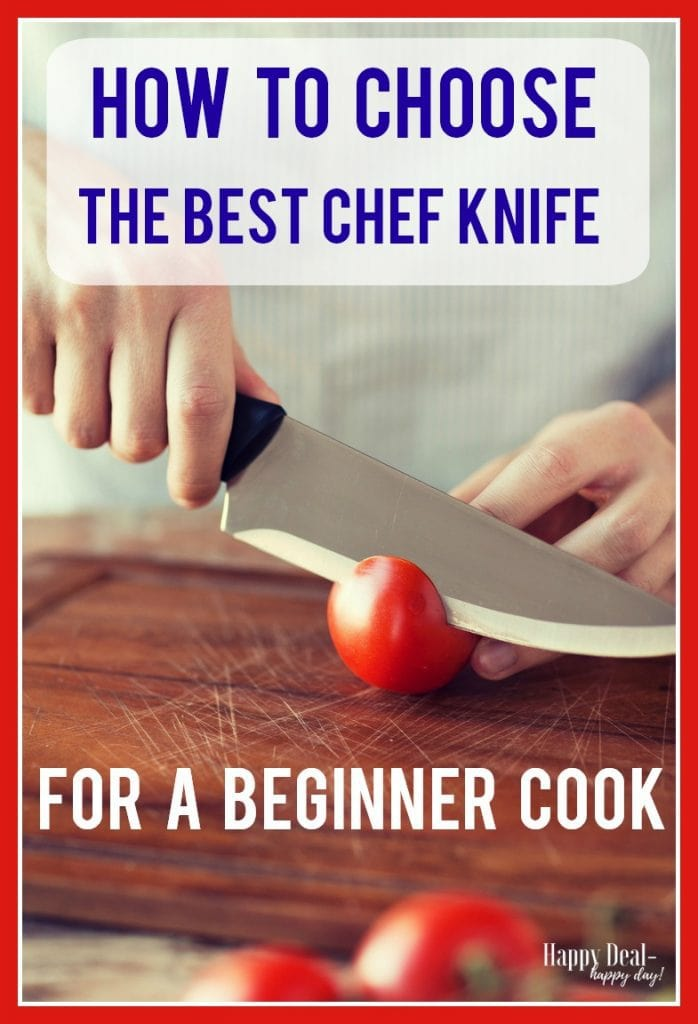 Best Chef Knife for a Beginner Cook