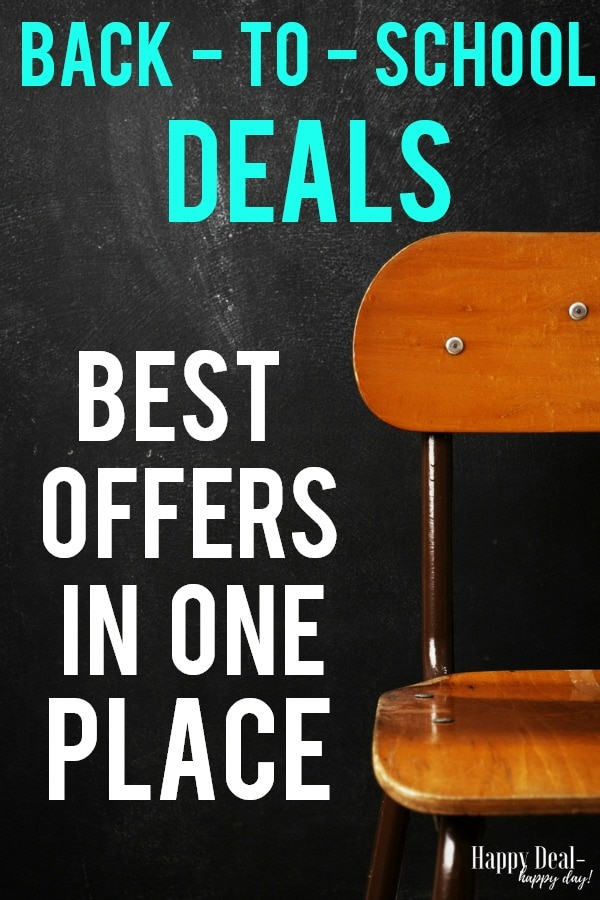 Back To School Deals - Best Offers in One Place!!