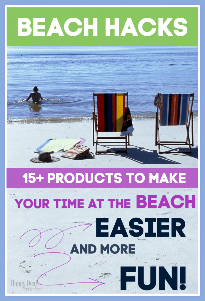 beach hacks and beach gear