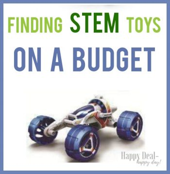 Tips For Finding STEM Toys On A Budget