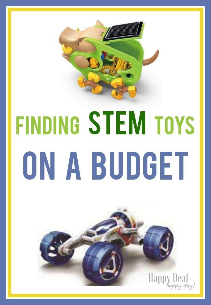 STEM Toys On A Budget