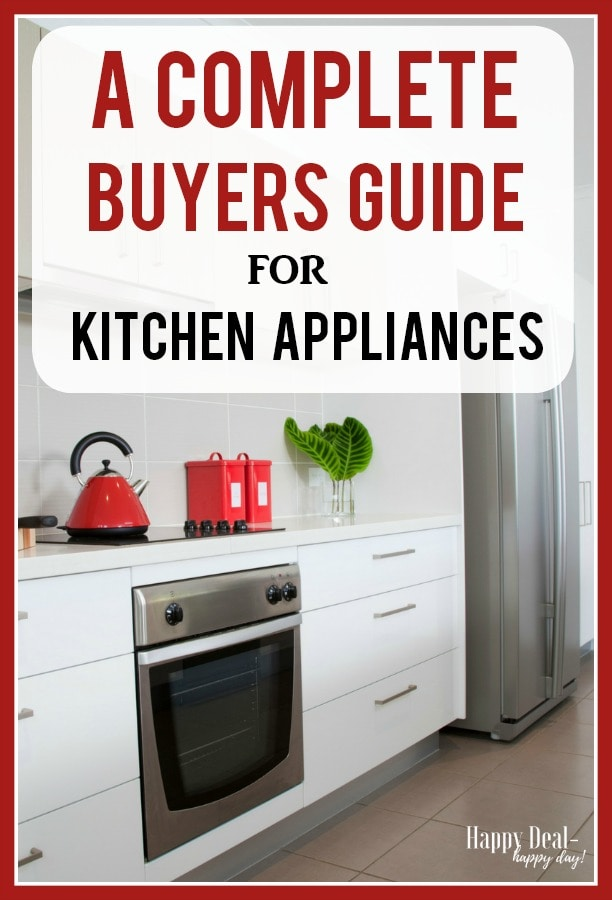 buying guide for kitchen appliances