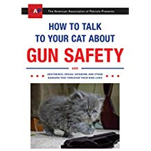 white elephant gift how to talk to your cats about gun safety