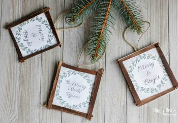 Free Printable Christmas Ornaments.Free Printable Diy Rustic Christmas Ornaments Happy Deal
