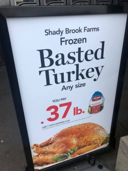 Local Turkey Prices Comparison – Walmart, Wegmans, Aldi & Tops