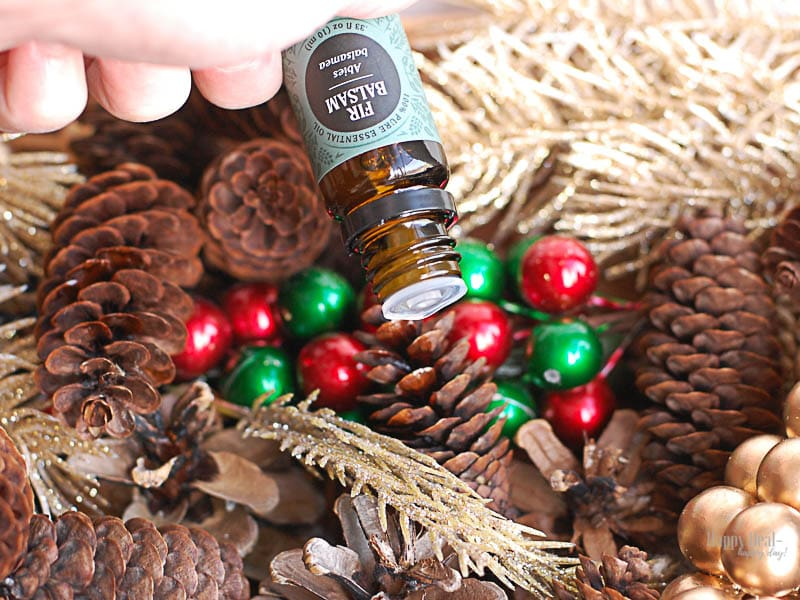DIY Scented Pine Cones For The Holidays
