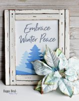 """Free Printable Winter Wall Art For Your Home – """"Embrace Winter Peace"""" Winter Printable"""