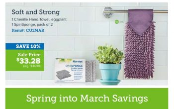 Norwex Tips:  What's on Sale in March!