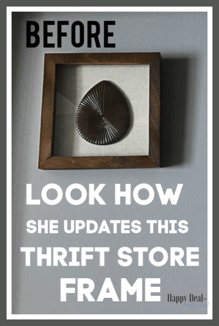 Thrift Store Makeover: DIY Wall Decor