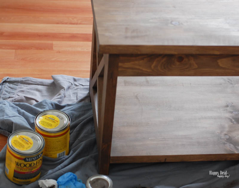 Staining Wood DIY - one coat
