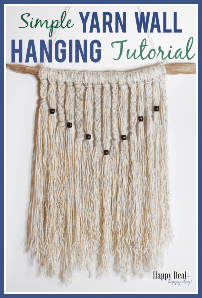Simple Yarn Wall Hanging Tutorial