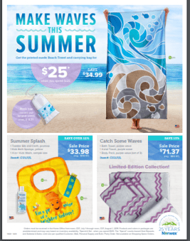 Norwex Tips:  What's on Sale in July!