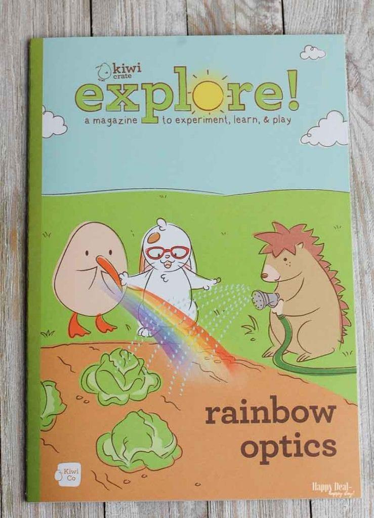 KiwiCo explore magazine