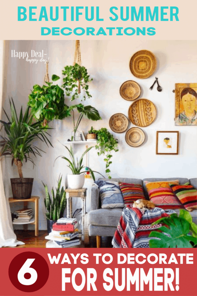 6 truly beautiful summer decorations for your home