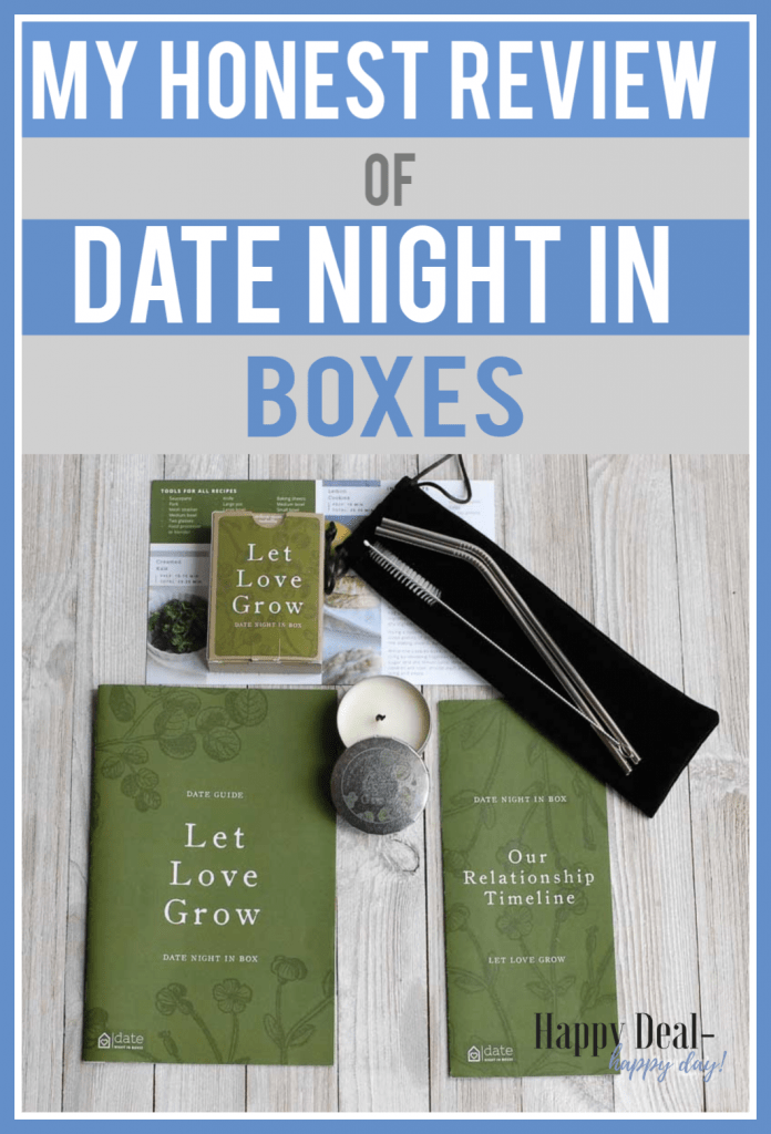 date night in box review - let love grow