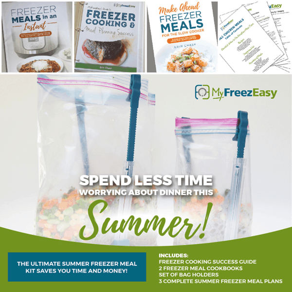 summer freezer meal recipes and ultimate summer freezer meal kit