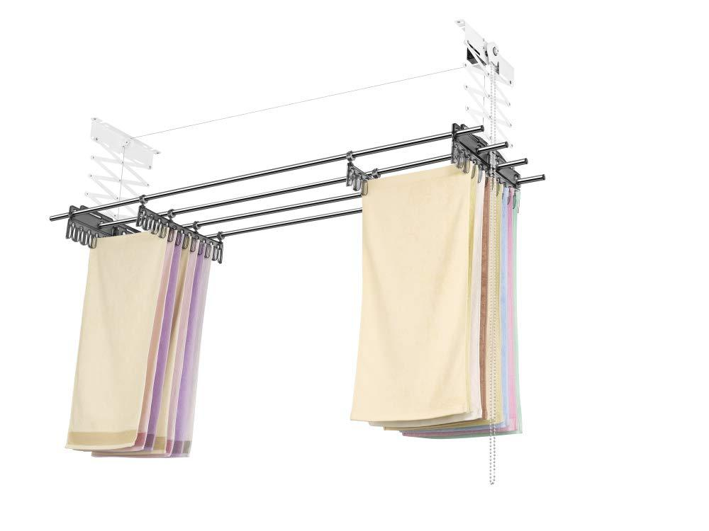 laundry room ceiling drying rack