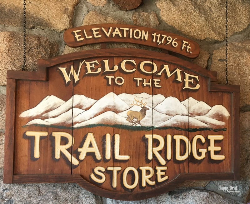 rocky mountain national park trail ridge store