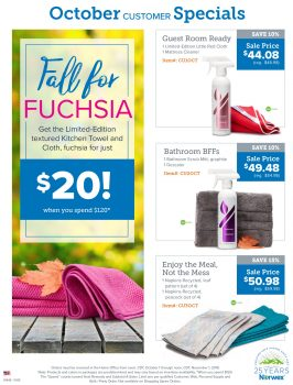 Norwex Tips:  What's on Sale in October!