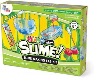 STEM at play slime making lab kit