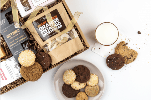 gift guide for her - cookies of the month