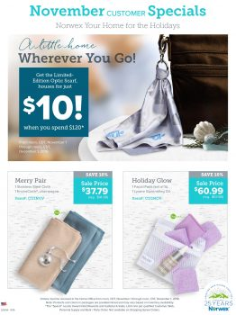 Norwex Tips:  What's on Sale in November!