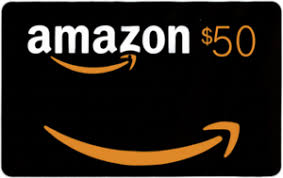$50 Amazon Gift Card Giveaway!  Ends June 19th!