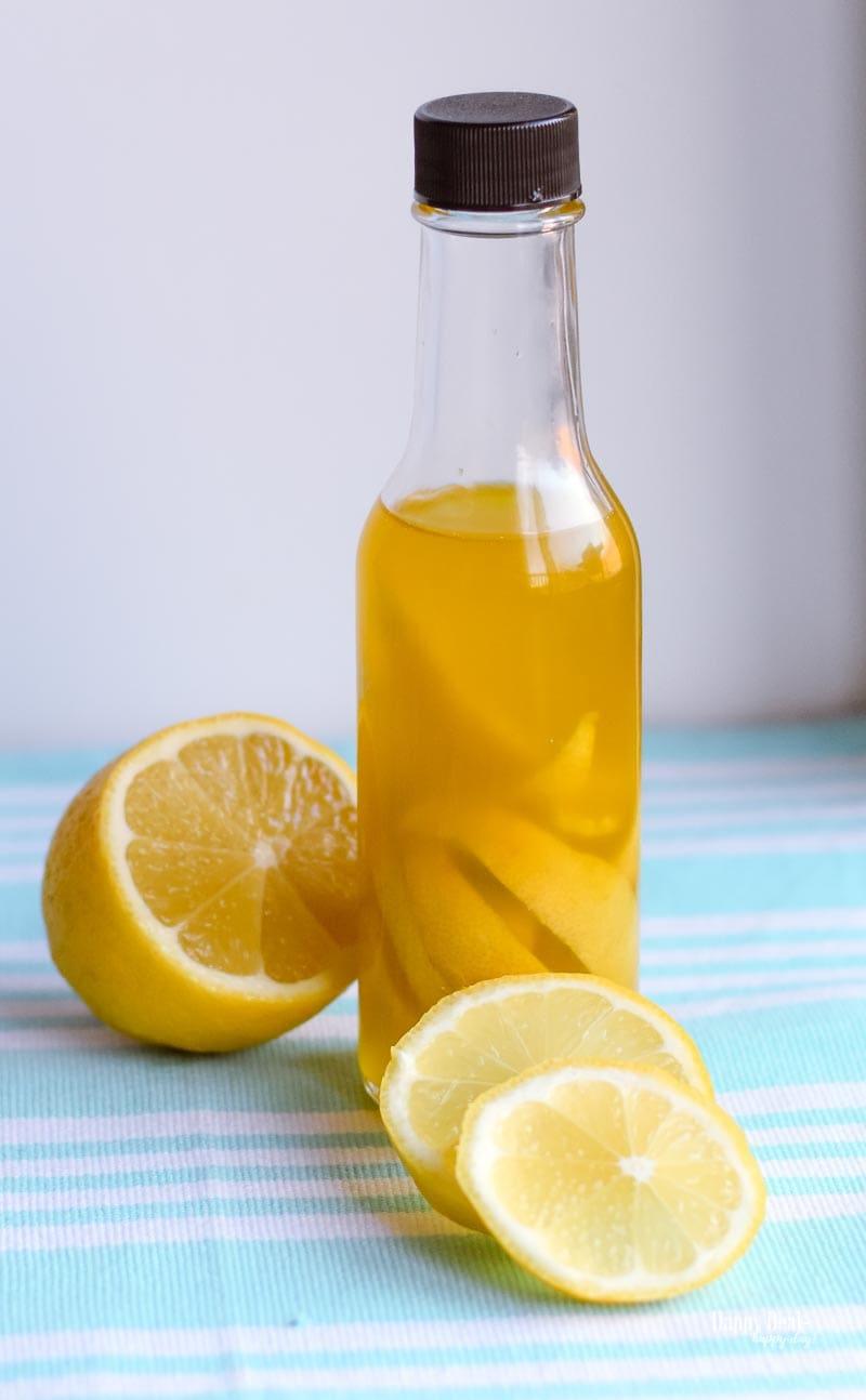 lemon infused olive oil recipe