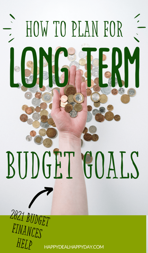 long term budget goals