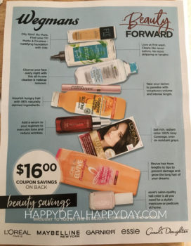 Wegmans Coupons:  10 NEW Beauty Coupons Found In-Store!