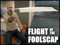Brad & Phil's Extreme Office Games - Flight of the Foolscap