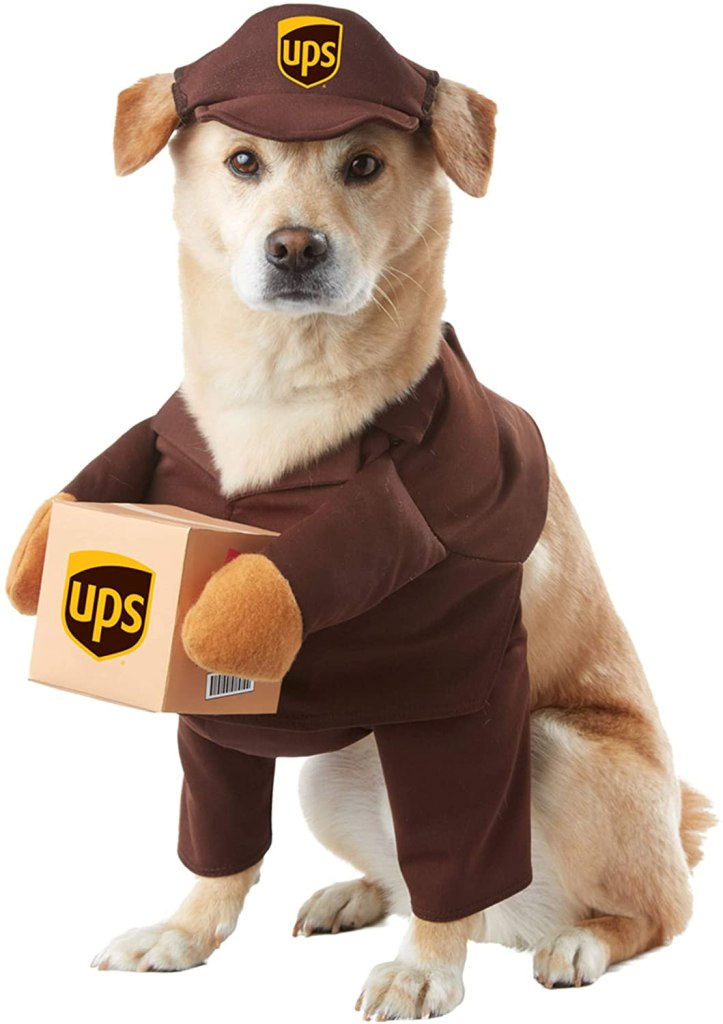 Dog UPS Costume- Halloween Costumes For Dogs