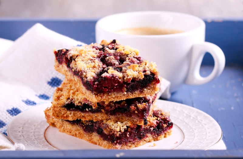 Blueberry Keto Coffee Cake