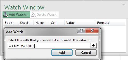 Watch Window