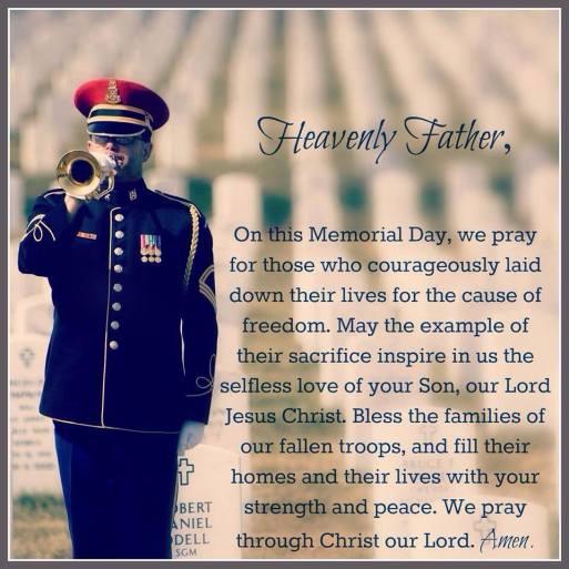 Memorial Day Prayers