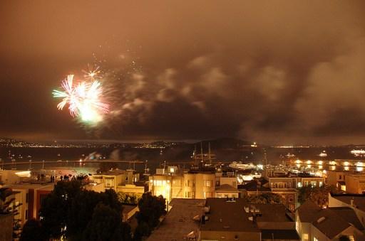 Best Fourth of July San Francisco fireworks