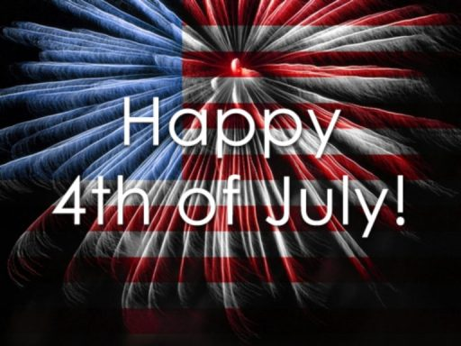 Happy 4th July Fireworks Image