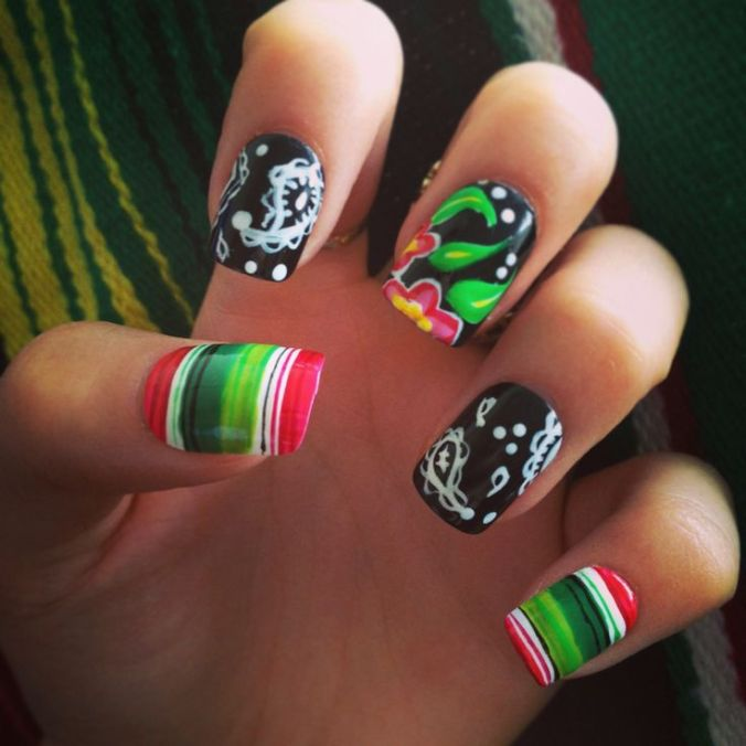 nail designs for July 4th