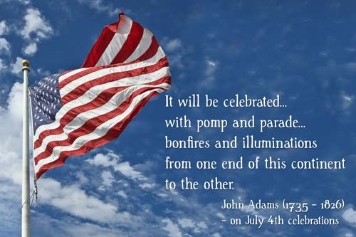 wishing for happy 4th of July