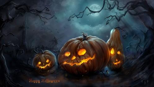 Free Halloween HD Wallpaper