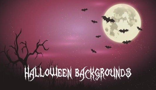 Free Halloween Backgrounds Poster