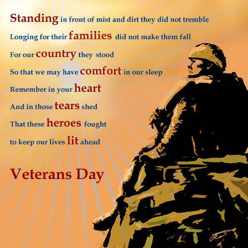 Veterans Day Poems 2018 | Remembrance Day Poems |Happy Veterans Day cards