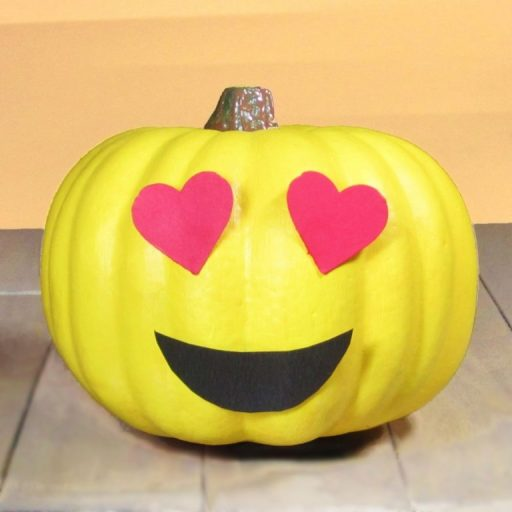 Cute Halloween Carved Pumpkins Photos