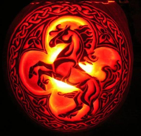 easy Halloween pumpkin carving patterns