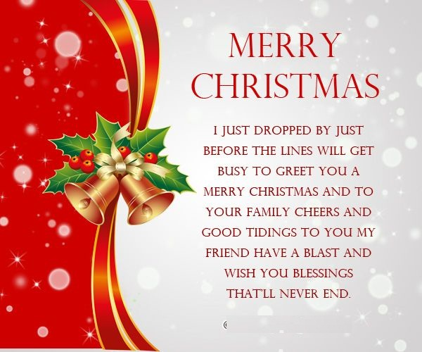 Blessed Merry Christmas Messages